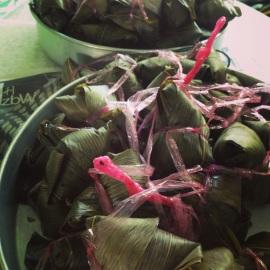 bah zhang, rice dumplings
