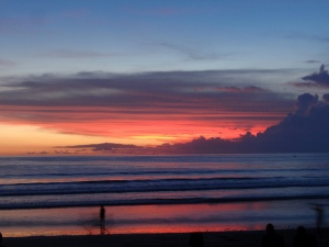 Sunset on Bali