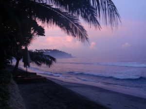 Sunrise on Lombok