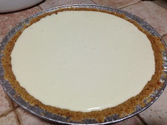 Unbaked cheese pie