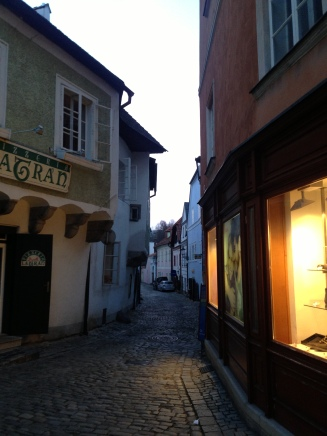 Street in the historic centre