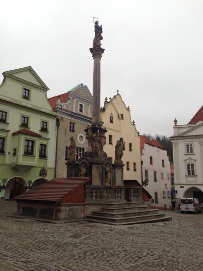 In the historic centre of the town