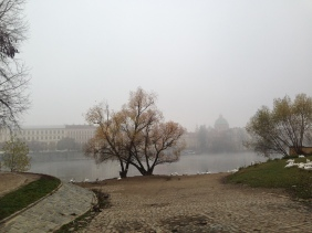 Cold cold morning in Prague