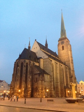 St. Bartholomew's Cathedral in Plzen
