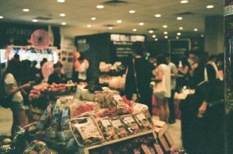 Gorgeous displays at the gourmet market