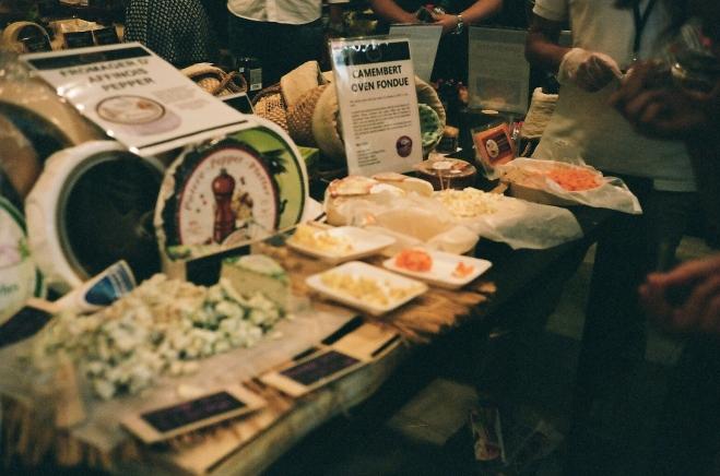 Beautiful cheeses