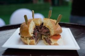Japanese Hida Wagyu Burger from Stellar@1-Altitude - yuuum