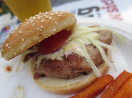 Har Cheong Gai Burger!!! Hong Kong Street Chun Kee Loved this