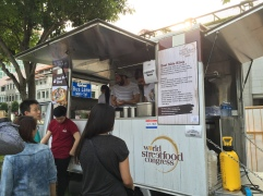 East Side King brought in their own truck! authencity!